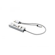 Adaptér USB C-A OTG HUB+čtečka YENKEE YHC 103SR