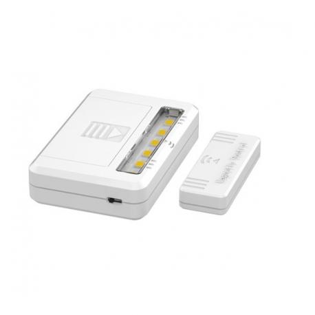 LED světlo do skříní, komod a zásuvek, 40lm , 2x AAA, 2ks v balení