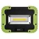 COB LED nabíjecí pracovní reflektor P4533, 1000 lm, 4400 mAh