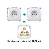 Zásuvka ABB TANGO 5519A-A02357 B WHITE
