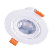 LED podhledové světlo bodové, 9W, 720lm, 3000K, kulaté, 38°, bílé WD214
