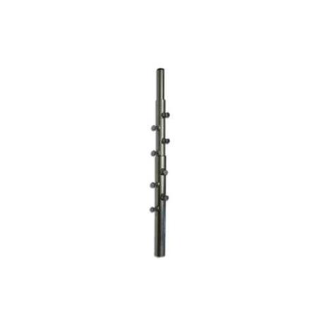 Stožár 3.díl d 42/48/57mm (3x2m), zinek Žár
