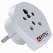 SKross | Travel Adapter | India / Israel / Denmark to Europe
