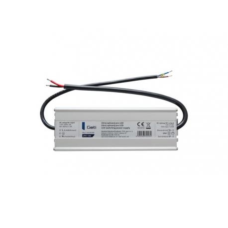 Zdroj spínaný pro LED 12V/120W  Geti LPV-120