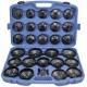 Klíče na olejové filtry, sada 30 kusů QUATROS