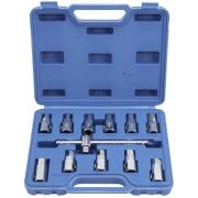 Klíče na šrouby olejových van, sada 12 kusů QUATROS