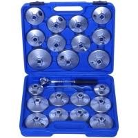 Klíče na olejové filtry, sada 23 kusů QUATROS