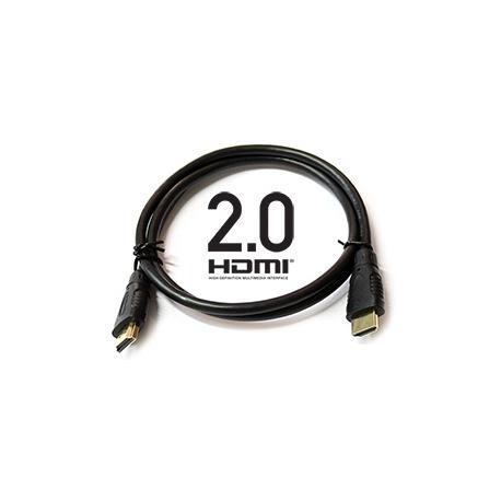HDMI - HDMI M/M - 10m pozlacený, verze HDMI 2.0