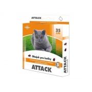 Obojek pro kočky STACHEMA ATTACK antiparazitní 35 cm