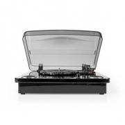 Gramofon | 18 W | Bluetooth® | Převod Přes Rozhraní USB | Kryt Proti Prachu | Černý