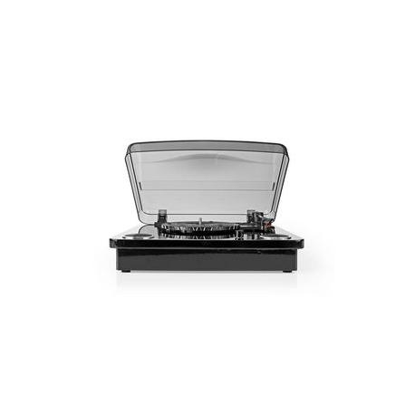 Gramofon   18 W   Bluetooth®   Převod Přes Rozhraní USB   Kryt Proti Prachu   Černý