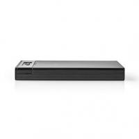 """Externí box pro HDD   2.5 """"   SATA III 6 Gb/s   USB 3.2 Gen1   USB-A   Plast"""