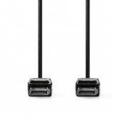 DisplayPort 1.4 Kabel | DisplayPort Zástrčka – DisplayPort Zástrčka | 3 m | Černý