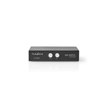 2portový | VGA Přepínač | Černý