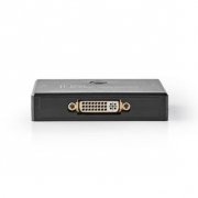 2-Port | DVI Bi-Direction Switch | Black