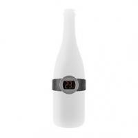 Teploměr na Víno | LCD Displej | 0 - 50 °C | Černá