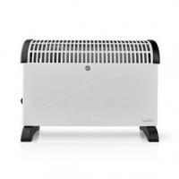 Konvekční Topení | 2000 W | 3 Nastavení Teploty | Nastavitelný termostat | Integrované úchyty | Bílá