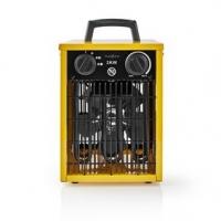 Průmyslový Ventilátor s Topným Tělesem   Termostat   3 Nastavení   2 000 W   Žlutý
