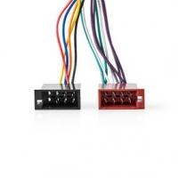 Adapter Cable ISO | JVC | 0.20 m | Kulatý | PVC | Plastový Sáček