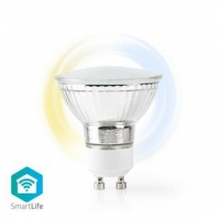 SmartLife LED Bulb | Wi-Fi | GU10 | 400 lm | 5 W | Studená Bílá / Teplá Bílá | 2700 - 6500 K | Energetická třída: A+ | Android™