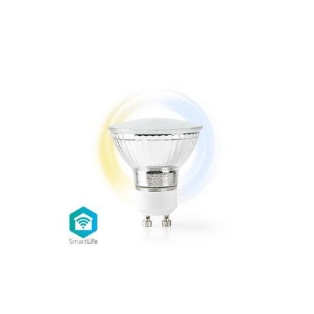Wi-Fi Chytrá LED Žárovka   Teplá až Studená Bílá   GU10