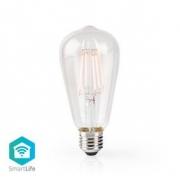 Wi-Fi Chytrá LED Žárovka s Vláknem | E27 | ST64 | 5 W | 500 lm