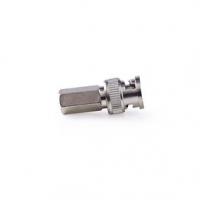 BNC konektor | Přímý | Zástrčka | Poniklované | 50 Ohm | Krimpovvací | Průměr vstupního kabelu: 7.0 mm | Ocel | Stříbrná | 25 ks