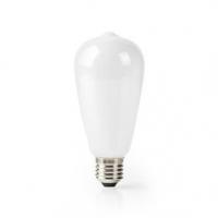 SmartLife LED žárovka | Wi-Fi | E27 | 500 lm | 5 W | Teplá Bílá | 2700 K | Sklo | Android™ & iOS | ST64