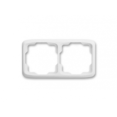 Rámeček ABB TANGO 3901A-B20 B dvojnásobný WHITE