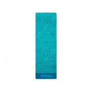Podložka SPOKEY MANDALA podložka na cvičení tyrkysová 4 mm