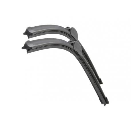 Stěrače FLAT SET (HOOK 12mm) 710+710mm