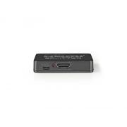 Přepínač 1x HDMI - 2x HDMI NEDIS VSPL34002BK
