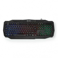 Wired Gaming Keyboard | USB 2.0 | Membránové Keys | LED | Německé | DE Rozložení Kláves | Délka napájecího kabelu: 1.50 m | Hern