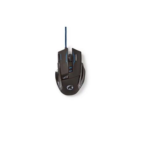 Herní Myš | Kabelové | Osvětlená | 4000 DPI | 8 tlačítek