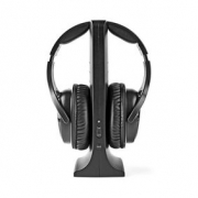Wireless Headphones | Radio Frequency (RF) | Over-Ear | Charging Base | Black
