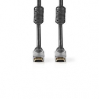 High Speed HDMI™ kabel s Ethernetem   Konektor HDMI ™   Konektor HDMI ™   4K@30Hz   10.2 Gbps   10.0 m   Kulatý   PVC   Černá  