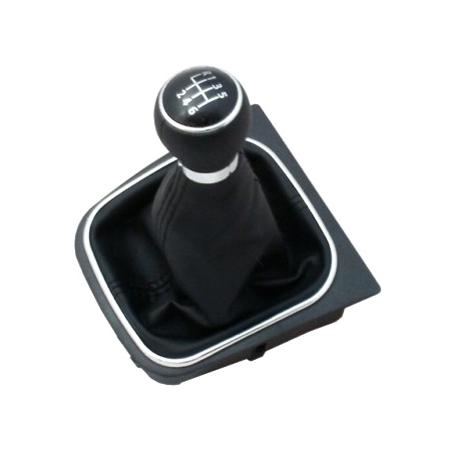 Páka řadící s manžetou VW GOLF V PLUS 2005 - 2008 6st BLACK