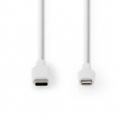 Apple Lightning Cable | Apple Lightning 8-Pin Male - USB-C™ | 1.0 m | White