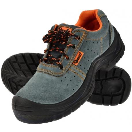Ochranné pracovní boty semišové model č.3 vel.41 GEKO