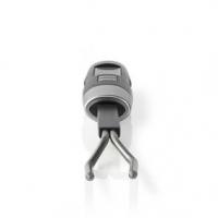 Maso Teploměr | Nastavení teploty | LCD Displej | 0 - 110 °C | Černá / Stříbrná