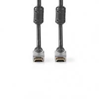 High Speed HDMI™ kabel s Ethernetem | Konektor HDMI ™ | Konektor HDMI ™ | 4K@60Hz | 18 Gbps | 5.00 m | Kulatý | PVC | Černá | Bo