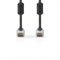 Ultra High Speed HDMI™ Kabel   Konektor HDMI ™   Konektor HDMI ™   8K@60Hz   48 Gbps   2.00 m   Kulatý   6.3 mm   Antracitová  