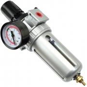 Regulátor tlaku s filtrem a manometrem, max. prac. tlak 10bar GEKO