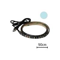 LED pásek s USB Geti GLS33C, 90 cm, studená bílá