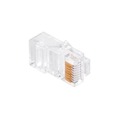Konektor počítačový kabel 8p-8c RJ45 (CAT) přímý CAT.5E