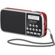 Digitální rádio TechniSat TechniRadio RDR, DAB+ červené