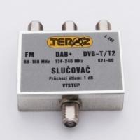 Teroz slučovač pásmový FM+DAB+DVB-T