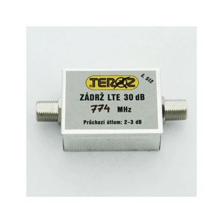 Teroz zádrž  LTE Filtr 30dB K1-58