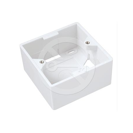 Krabice/box na omítku pro zásuvky SX9-x-y-z-WH SX9-0-WH bílý