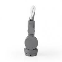 Kabelová sluchátka na uši | 3,5 mm | Délka kabelu: 1.20 m | 85 dB | Šedá